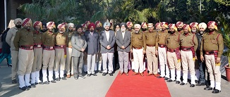 GNDU Celebrated 71st Republic Day; VC unfurled the National Flag
