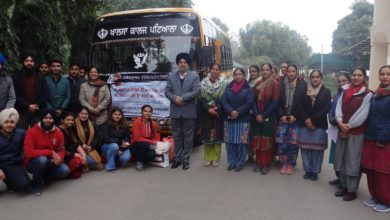 Students of Khalsa College organised charity event under Ardaas Foundation