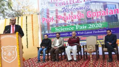 Thapar Polytechnic College successfully starts its annual event-Science Fair 2020