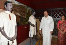 Organize student visits to Cellular Jail,historic places linked to the freedom struggle-Naidu