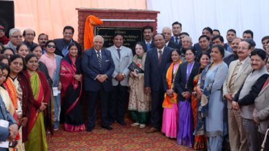 DAV Patiala lays foundation at new site with the celebration of Akankshayein
