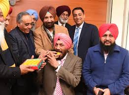 Captain Harminder Singh assumes charge as chairman Milkfed-Photo courtesy-Internet