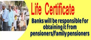 Facility of Life Certificate by banks from the doorstep of the pensioners-Photo courtesy-Internet