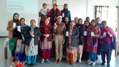 Mata Sahib Kaur Education College organized extension talk on Women Safety
