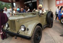Nirvan Singh flags off vintage car rally as part of Patiala Heritage Festival