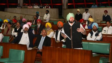 Capt Amarinder to lead all-party delegation to meet Modi