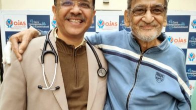 75-yr heart patient undergoes high risk stenting successfully at Ojas
