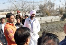 Manpreet Badal visited Bathinda city; asks officials to speed up developmental works