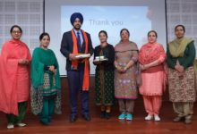 Prevention and Cure of Breast Cancer: lecture organised at Khalsa College Patiala