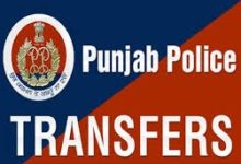 SSP amongst IPS-PPS transferred in Punjab