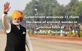 Government announces 11 chairs in the name of eminent women in various fields of Science & Technology-Photo courtesy-Internet