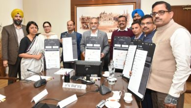 "Chief Secretary launches ""COVA PUNJAB"" mobile APP; people to get advisories on the app"