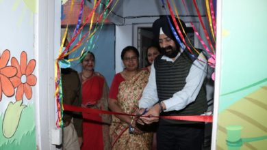 SSP inaugurates crèche at Police DAV public school Patiala