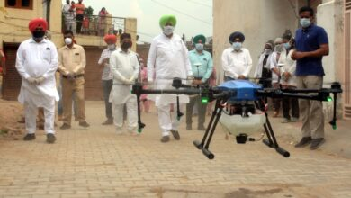 Now drones to sanitize congested areas-Sidhu
