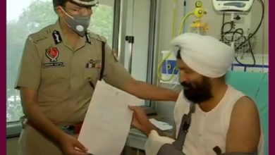 Double delight for brave heart Harjeet Singh; son also got inducted in Punjab police