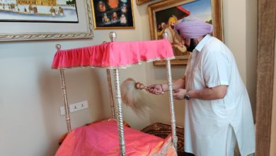 Own Ardas by Capt Amarinder leads Baisakhi prayers at 11 am ; thanks people for staying in