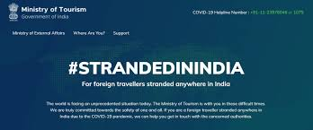 Tourism ministry launched portal for foreign tourists; coordinating transfer to home country-Photo courtesy-Internet