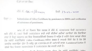 Pensioner's relief-PSPCL extended alive certificate submission date