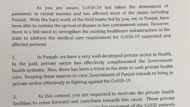 Punjab govt roping in private hospitals to start COVID 19 treatment