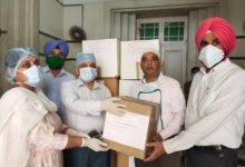 IAS topper's parents gift PPE kits and masks to Rajindra Hospital