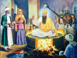 Today is the martyrdom day of the first martyrs of Sikhism Guru Arjan Dev Ji-Photo Courtesy-Internet