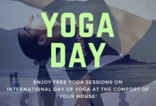 International Day of Yoga;free online yoga session