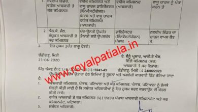 Punjab excise additional/ joint commissioner officers transferred