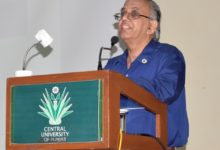 Central university of Punjab gave farewell to legendary academician Prof. P. Ramarao