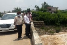 Patiala divisional commissioner express satisfaction over flood-control measures in Patiala