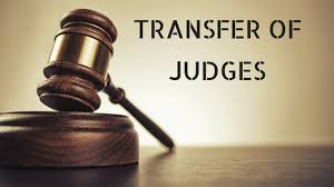 Punjab and Haryana high court transfer district court judges