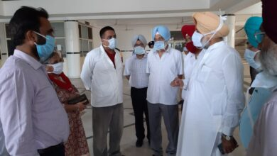 Install LEDs screen, CCTV cameras in Corona wards; Sidhu to Gian Sagar hospital authorities