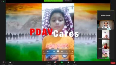 Police DAV public school Patiala celebrated virtual Independence Day