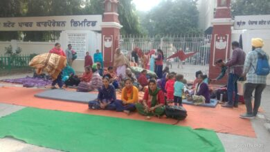 PSPCL directors, chiefs jump the wall; haunting night for PSPCL staff; slept in offices