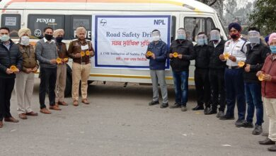 NPL undertakes road safety cum COVID awareness drive- Athar Shahab