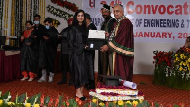 2313 Degrees awarded during 34th Convocation of Thapar Institute
