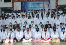 White coat and oath taking ceremony for MBBS students at AIIMS Bathinda