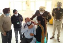 Vigilance bureau chief Uppal takes Covid vaccine jab; urged officials for early vaccination