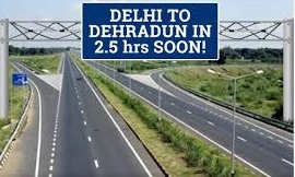 New corridor between Delhi and Dehradun will cut travel time to just 2.5 hours-Photo courtesy-Internet
